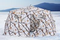 Фото Зимняя палатка шестигранная higashi winter camo yurta pro трехслойная