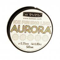 Фото Леска balsax aurora box 50м 0,25 (6,8кг)