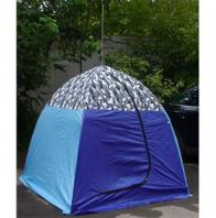 Фото палатка рыбака с брезентом стэк-1 (п/автомат)