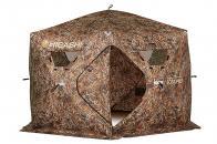 Фото Зимняя палатка шестигранная higashi camo sota pro dc трехслойная