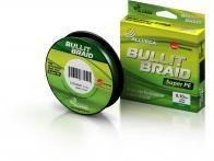 Фото Леска плетеная allvega bullit braid 270м 0,10мм 5,5кг темно-зеленая