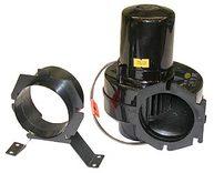 Фото вентилятор моторного отсека центробежный с кронштейнами.