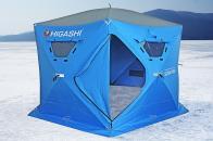 Фото Зимняя палатка шестигранная higashi sota pro трехслойная