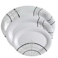 Фото овальные тарелки «polaris», 24x14; 28,5x20,5; 38x28,5 см