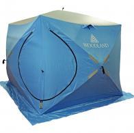 Фото Зимняя палатка куб woodland ice fish double двухслойная