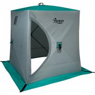 Фото зимняя палатка куб premier комфорт трехслойная 1,5х1,5 (pr-iscc-150bg)