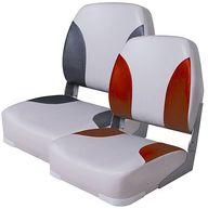 Фото сиденье «deluxe», серое с темно-серым