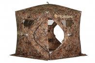 Фото Зимняя палатка пятигранная higashi camo penta pro dc трехслойная