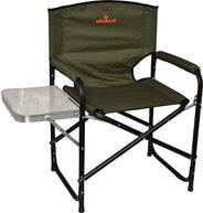 Фото кресло кемпинговое складное со столиком woodland fisherman sk-05