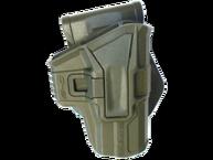 Фото кобура 1 уровня поворотная для glock 9 мм fab defense g-9s зеленая