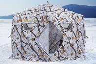 Фото Зимняя палатка шестигранная higashi winter camo sota