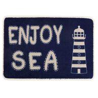 Фото коврик на нескользящей основе «enjoy sea», 68x44 см