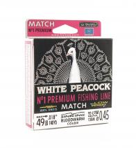 Фото леска balsax white peacock match box 130м 0,45 (22,5кг)