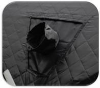 Фото Окно(выход под трубу) для палаток куб woodland