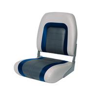 Фото сиденье мягкое special high back seat, серо-синее
