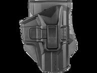 Фото Кобура поворотная с кнопкой для glock 9 мм (правша)