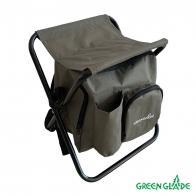 Фото стул для пикника без спинки green glade m1102 с сумкой-холодильником