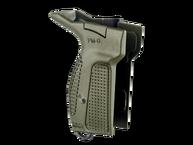 Фото рукоятка для пистолета макарова (для левши) fab defense pm-g(l) зеленая