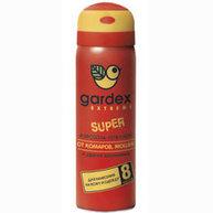 Фото аэрозоль gardex extreme super от комаров, мошек и слепней 80мл (0140)