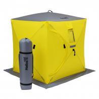 Фото Палатка для зимней рыбалки helios Куб 1,5х1,5 (hs-isc-150yg)