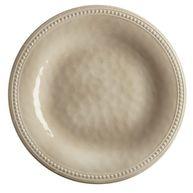 """Фото плоские тарелки """"harmony"""", песочные, 6 шт"""
