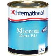 Фото Покрытие необрастающее micron extra eu темно серый 0,75 л