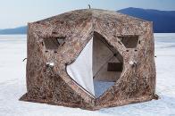 Фото Зимняя палатка шестигранная higashi camo sota