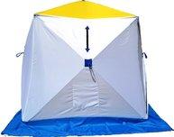 Фото палатка для зимней рыбалки стэк куб-2 трехслойная