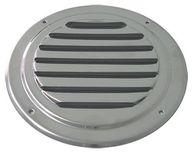 Фото вентиляционная решетка круглая с козырьком, 102 мм