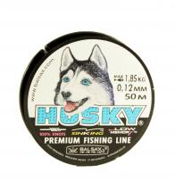 Фото Леска balsax husky box 50м 0,12 (1,85кг)