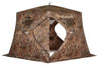 Фото Зимняя палатка пятигранная higashi camo chum pro трехслойная