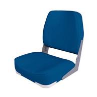 Фото сиденье мягкое складное economy low back seat, синее
