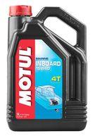 """Фото минеральное моторное масло """"motul 15w-40"""" для 4-х тактныхстационарных двигателей, 5 л"""