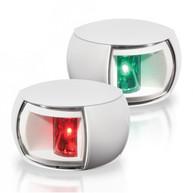 Фото Огни бортовые светодиодные комплект белый корпус
