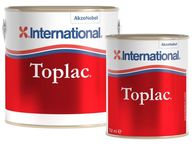 Фото силикон-алкидная эмаль «toplac» холодный белый (545), 0,75 л.