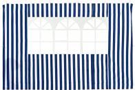 Фото стенка с окном (синяя) 1,95х2,95 4120