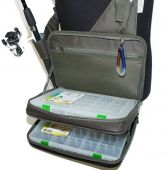Фото сумка для рыбалки поясная fisherman ф-262 (33 х 24 х 10 см)