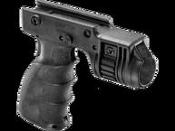Фото Тактическая рукоять с креплением для фонаря диаметром 1 дюйм