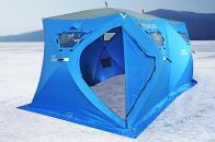 Фото Зимняя палатка куб higashi double pyramid