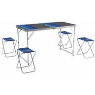 Фото набор мебели для пикника zagorod в103 (стол +4 стула)