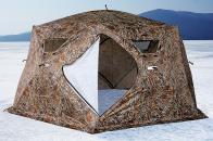 Фото Зимняя палатка шестигранная higashi camo yurta