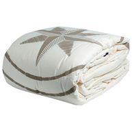 Фото одеяло «free style», 270x140 см, песочное