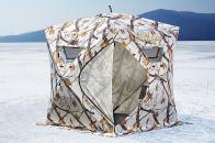 Фото Зимняя палатка куб higashi winter camo comfort