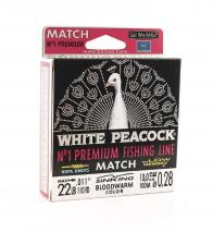 Фото леска balsax white peacock match box 100м 0,28 (10,0кг)