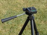 Фото кронштейн пластиковый. qc-lph light weight pan head mount